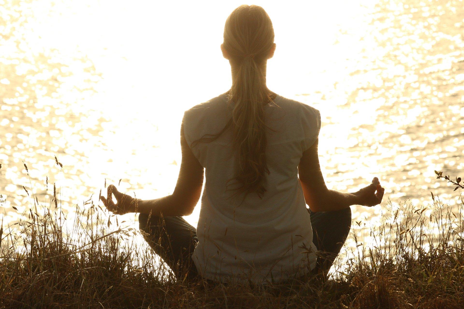 sunlight reflection meditation