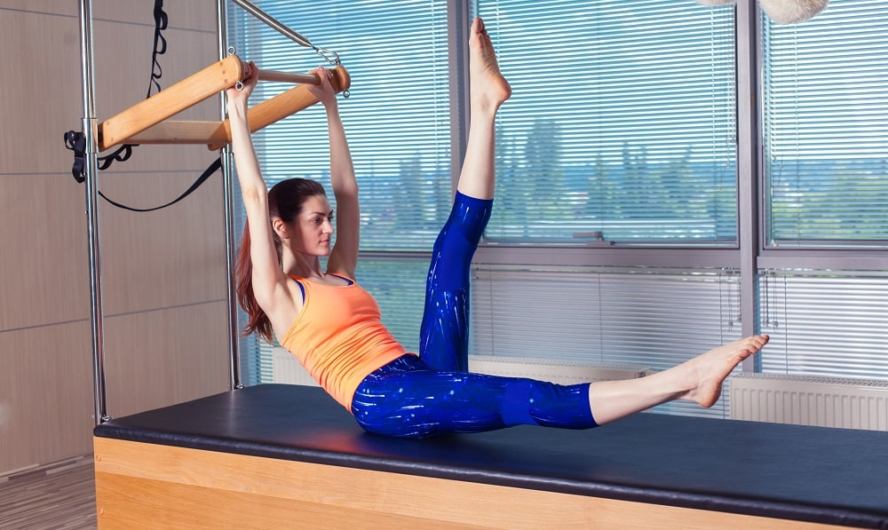 pilates stretching