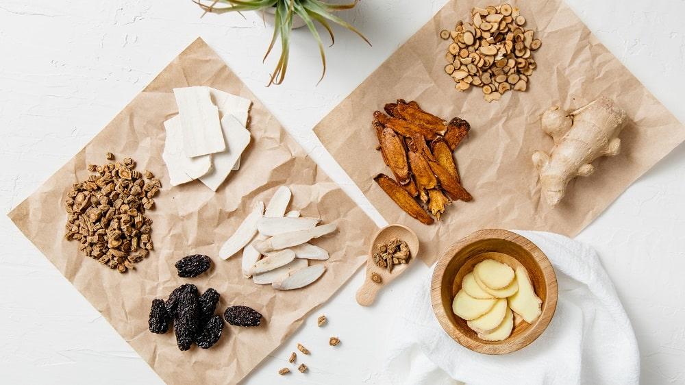raw herbal medicine ingredients